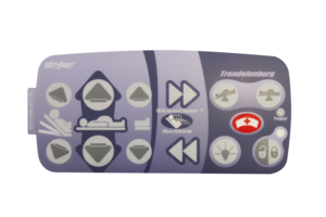 OUTER RIGHT LABEL, SKOOCH/NURSE CONTROL by Stryker Medical