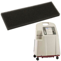 CABINET FILTER, 2-1/2 IN X 1/2 IN X 9-1/8 IN by Invacare Corporation