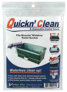 PAINT BUCKET LINER 5 GAL. PLASTIC PK5 by Wooster