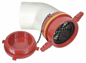 DRY HYDRANT 45 ADAPTER 4-1/2 IN FEMALE by Moon American