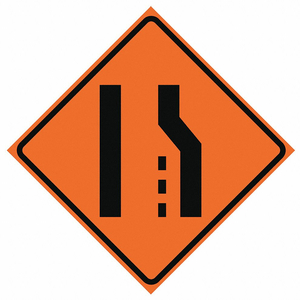 G7244 ROLL UP TRAFFIC SIGN 48 H 48 W VINYL by Eastern Metal Signs And Safety