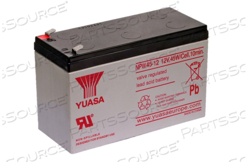 BATTERY UPS, SEALED LEAD ACID, 12V, 9 AH