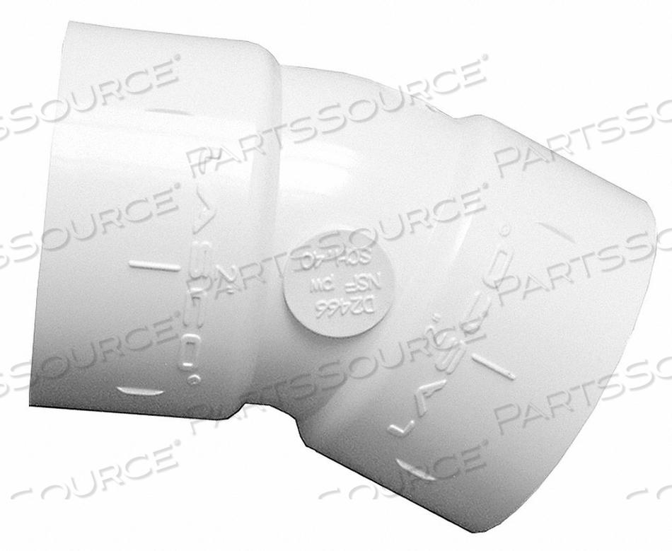 ELBOW PVC 1-1/2 IN. SLIP X SLIP by Lasco