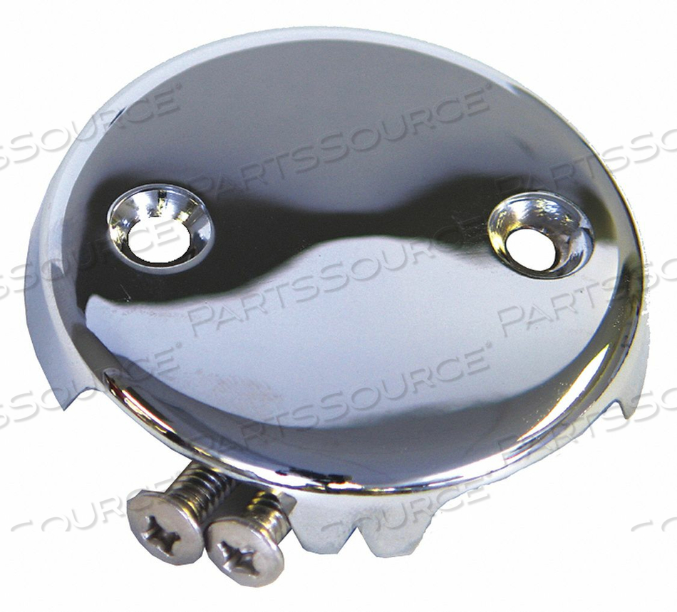 FACEPLATE BATH/SHOWER CHROME 3-1/4IN. by Kissler