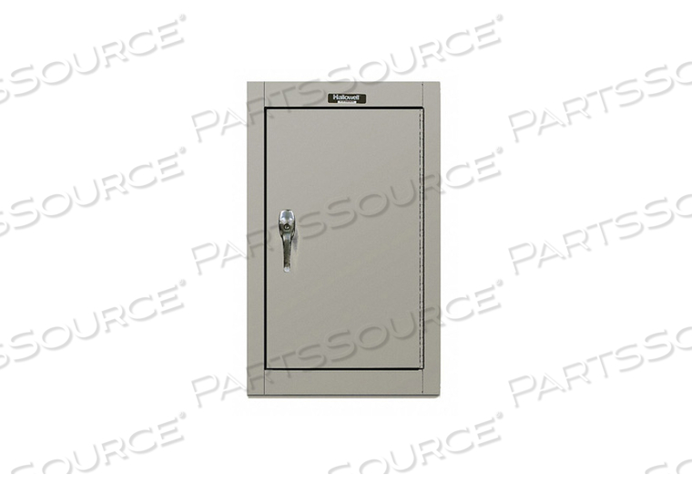 G6773 WALL CABINET 26 H 16 W GRAY by Hallowell