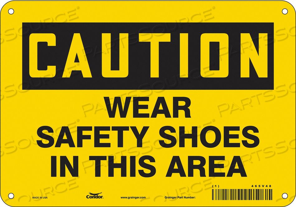 J6975 SAFETY SIGN PERSONAL PROTECTION 7 H by Condor