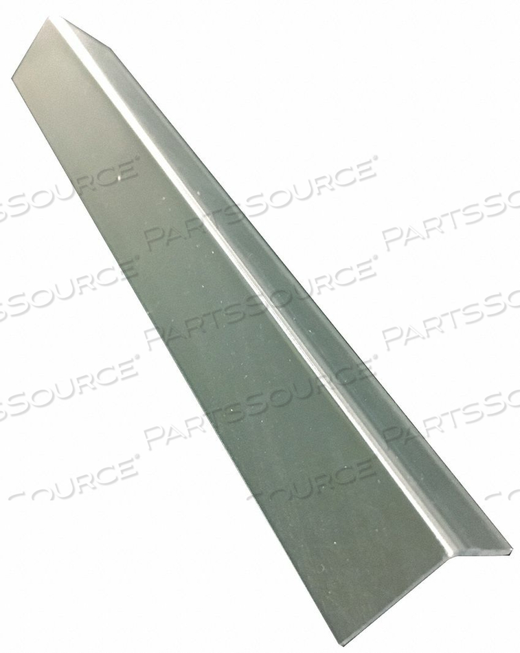 CORNER GUARD CLEAR UNDRILLED 3/4X96 IN. by Pawling Corp
