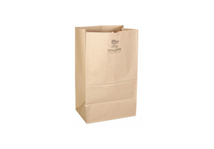 GROCERY BAG BRN 5-5/16 L 8-1/4 W PK400 by Duro