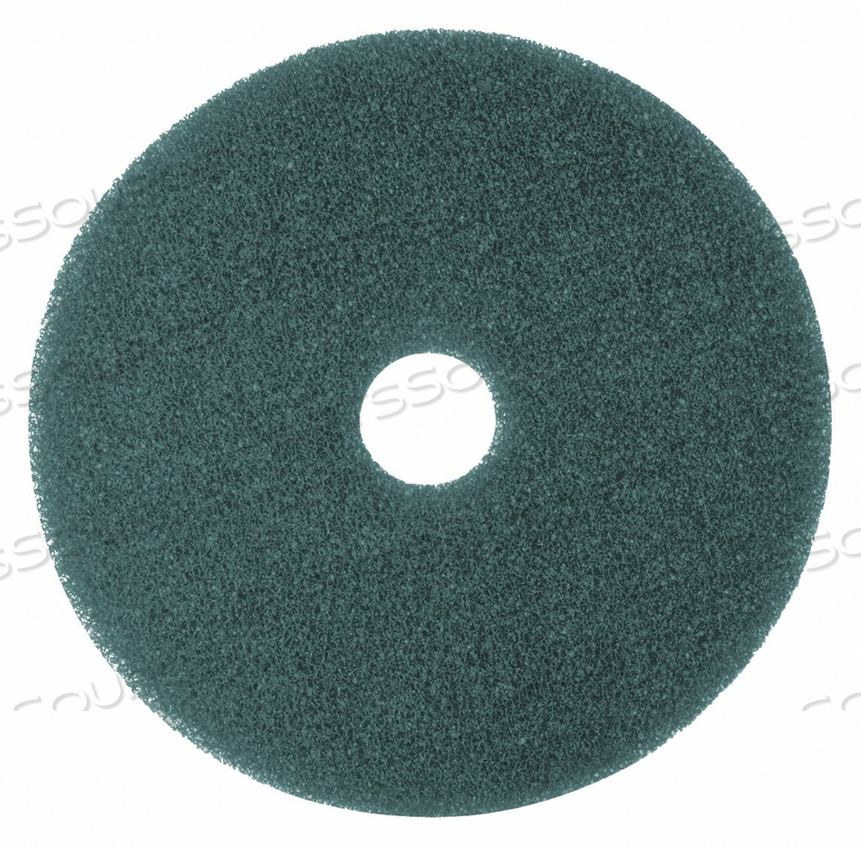 CLEANING PAD BLUE SIZE 14 ROUND PK5 by Tough Guy