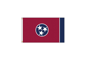 D3771 TENNESSEE FLAG 4X6 FT NYLON by Annin Flagmakers