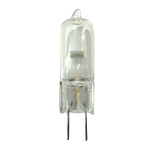 HALOGEN LAMP, 3000 K, 50 W, 12 V, 4.17 A, GY6.35, 2000 HR AVERAGE LIFE, 950 LUMENS, T4, CLEAR, 1.73 IN by Berchtold