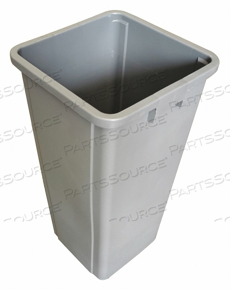 D2124 TRASH CAN LINERS SQUARE 23 GAL. GRAY by Tough Guy