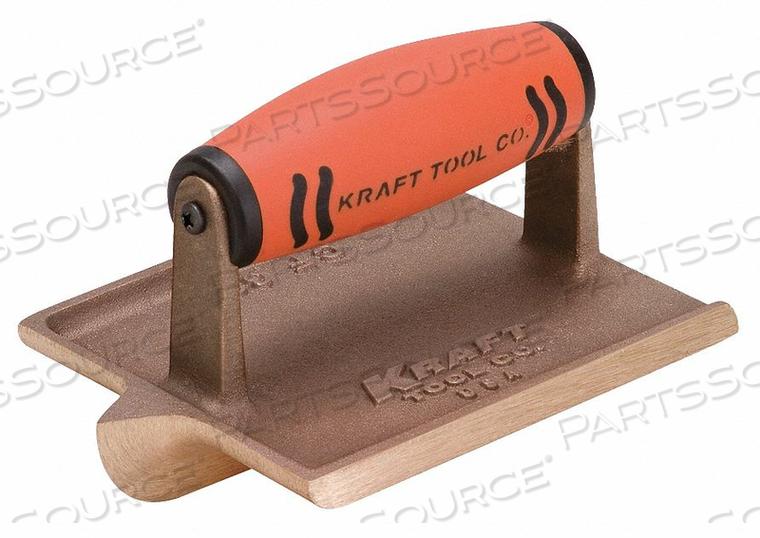 CONCRETE GROOVER BRONZE 1/4 IN RADIUS by Kraft Tool