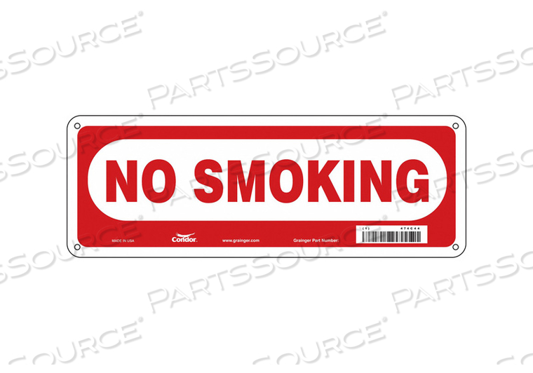 SAFETY SIGN 14 W 5 H 0.060 THICKNESS by Condor