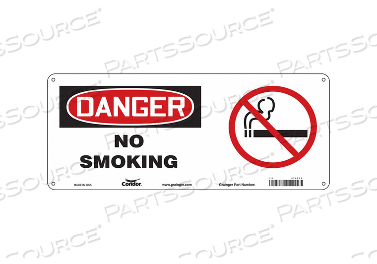 SAFETY SIGN 17 W 7 H 0.032 THICKNESS by Condor
