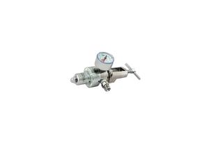 OXYGEN REGULATOR, CGA 870 SWIVEL YOKE, 50 PSI PRESET, 3000 PSI INLET, MEETS FDA, ISO 9001, 2 IN DIA by Western Enterprises