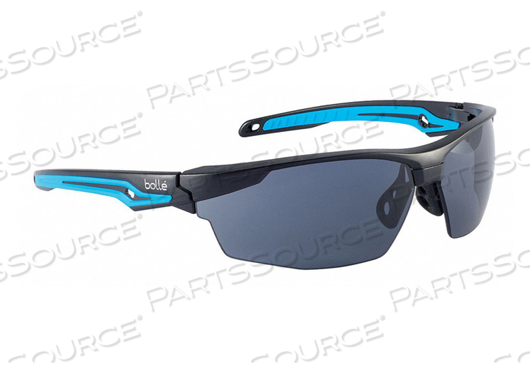 SAFETY GLASSES SMOKE LENS WRAPAROUND by Bolle Safety