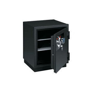 2 HR FIRE RESISTANT SAFE 22-7/8 X 25-1/2 X 30-3/8 ELECTRONIC, KEY LOCK GRAPHITE by Fire King