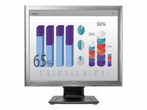 "HP ELITEDISPLAY E190I - LED MONITOR - 18.9"" - 1280 X 1024 - IPS - 250 CD/M¦ - 1000:1 - 8 MS - DVI-D, VGA, DISPLAYPORT - METEORITE WITH BLACK STAND - SMART BUY by HP (Hewlett-Packard)"