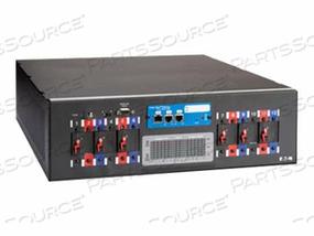 """POWERWARE RACK POWER MODULE RPM-3U - POWER DISTRIBUTION UNIT ( RACK-MOUNTABLE ) - AC 208 V - 3-PHASE - RS-232 - OUTPUT CONNECTORS: 4 ( NEMA L21-20 ) - 3U - 19"""""""