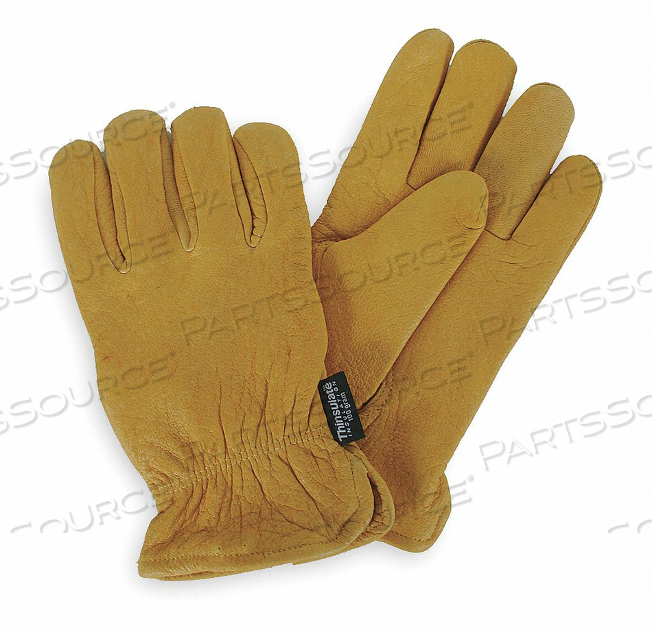 D1667 COLD PROTECTION GLOVES L GOLDEN YLW PR by Condor