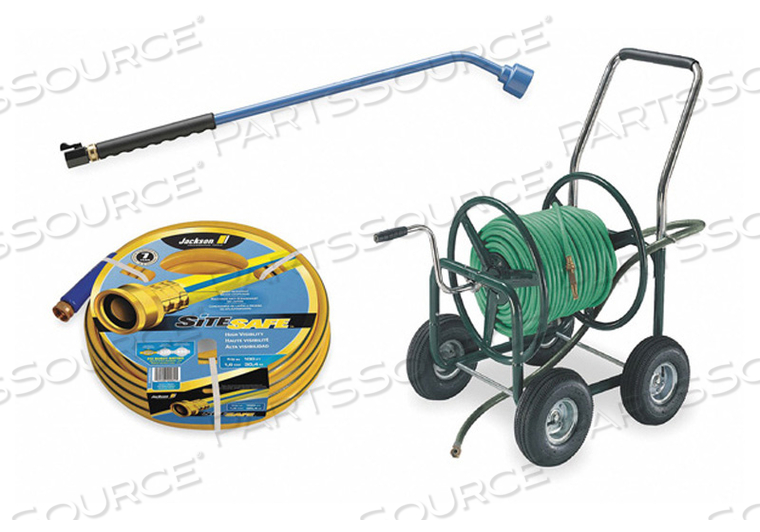 PORTABLE HOSE CART STEEL 17 IN DIA. by Jackson