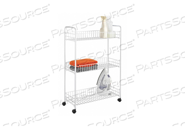 LAUNDRY CART 3 TIER by Honey-Can-Do
