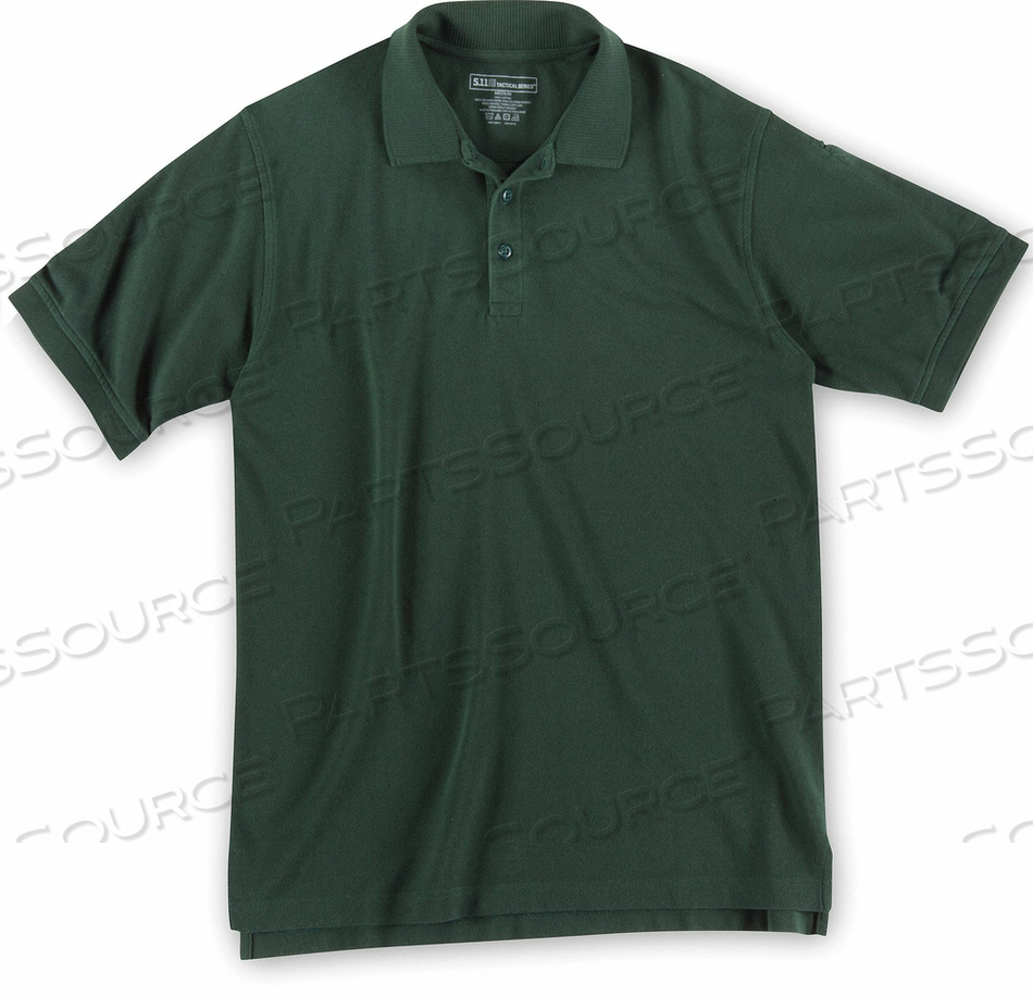 SHORT SLEEVE UTILITY POLO 3XL LE GREEN by 5.11 Tactical