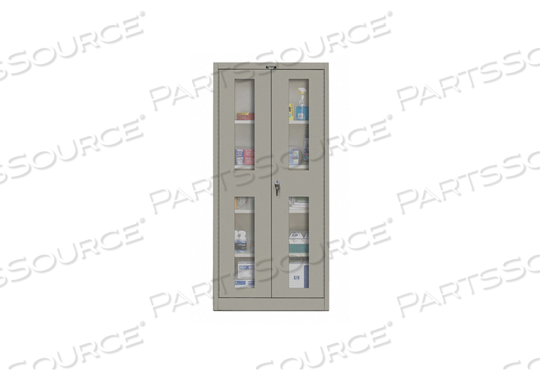 G6764 SHELVING CABINET 72 H 36 W GRAY by Hallowell