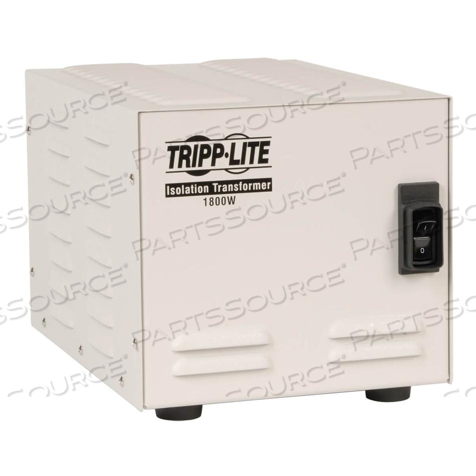TRIPP LITE ISOLATION TRANSFORMER 1800W MEDICAL SURGE 120V 6 OUTLET TAA GSA by Tripp Lite