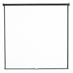 WALL/CEILING PROJECTION SCREEN 96 X96 by Quartet