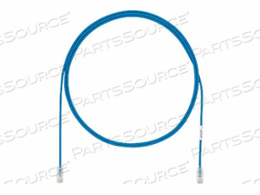 PANDUIT TX6-28 CATEGORY 6 PERFORMANCE - PATCH CABLE - RJ-45 (M) TO RJ-45 (M) - 2 FT - UTP - CAT 6 - IEEE 802.3AF/IEEE 802.3AT - BOOTED, HALOGEN-FREE, SNAGLESS, STRANDED - BLUE - (QTY PER PACK: 25) by Panduit