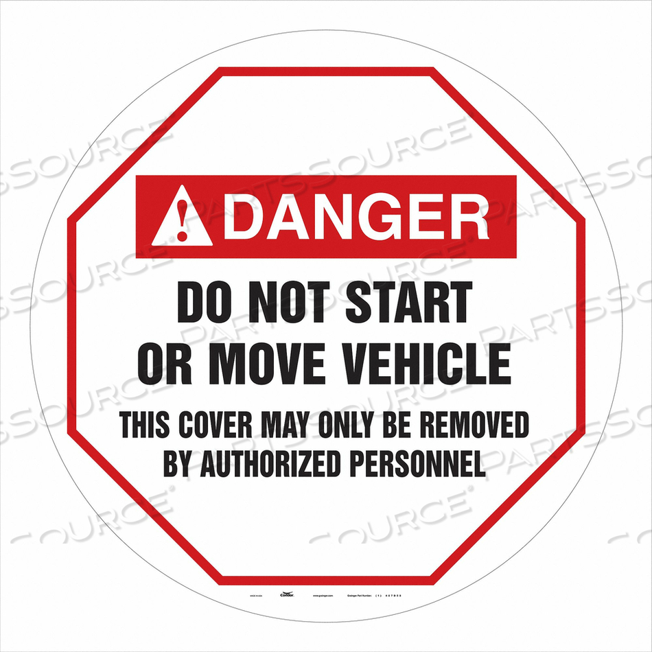 TRAFFIC SIGN 20 W 20 H 0.026 THICKNESS by Condor