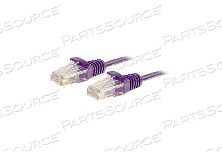 5FT CAT6 CABLE UTP SLIM 28AWG PURPL by Legrand AV (C2G)