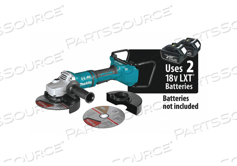 CORDLESS ANGLE GRINDER LI-ION 36.0V by Makita