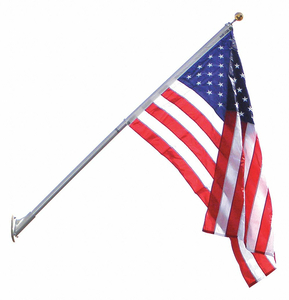 FLAG POLE 8 FT H ALUMINUM by Annin Flagmakers