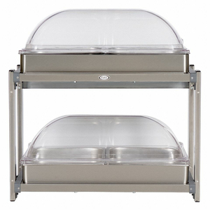 BUFFET SERVER W/ROLLTOP LIDS MULTI-LEVEL by Cadco