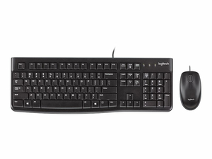 COMBO MOUSE KEYBOARD CORD MK120 by Logitech