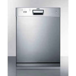 """!-DISHWASHER, ENERGY STAR, 12 PLACE SETTINGS, 23-1/2""""W X 22-1/2""""D X 32-1/4""""H, S/S by Summit Appliance (Div. of Felix Storch, Inc.)"""