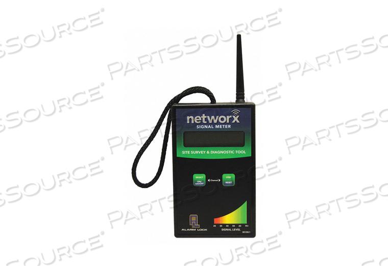 SIGNAL METER PLASTIC H 8-1/2 W 3-1/2 by Alarm Lock