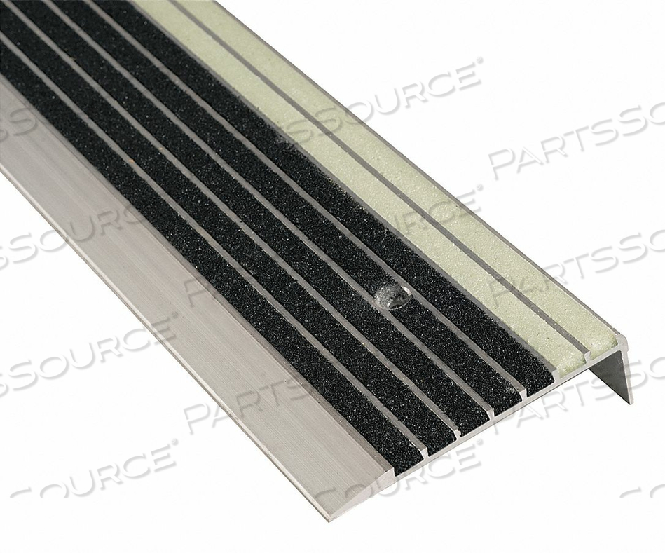 STAIR TREAD COVER 36IN W ALUMINUM by National Guard Products