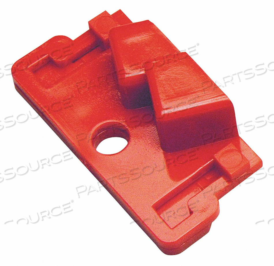 CIRCUIT BREAKER LOCKOUT RED 4-1/2 H by Condor