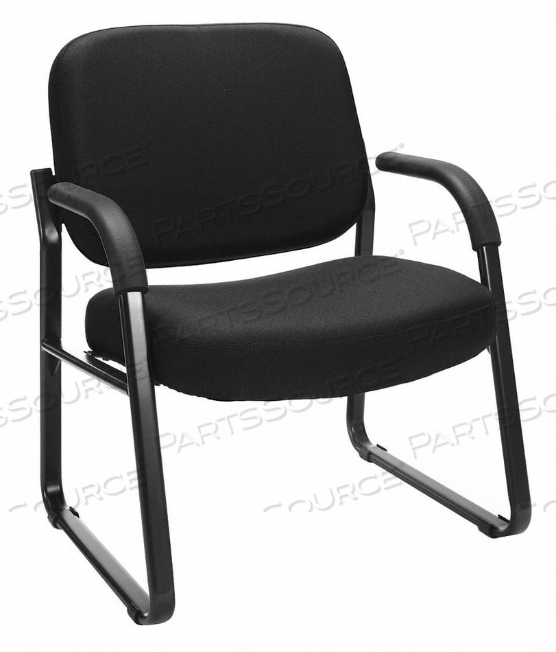ARM CHAIR BLACK FABRIC/PLASTIC/METAL by OFM Inc