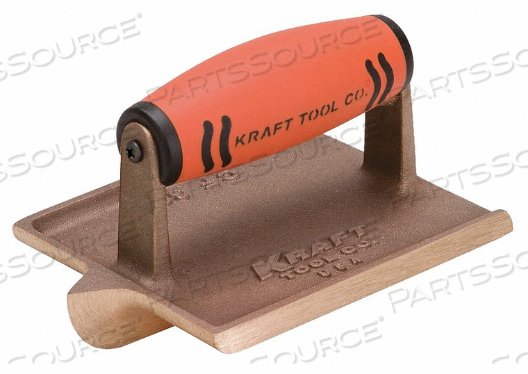 CONCRETE GROOVER BRONZE 3/8 IN RADIUS by Kraft Tool