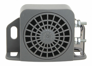 BACK UP ALARM 102DB GRAY 5 IN L PLASTIC by Imperial Supplies
