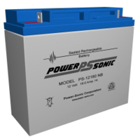 BATTERY, SEALED LEAD ACID, 12V, 18 AH by Power Sonic