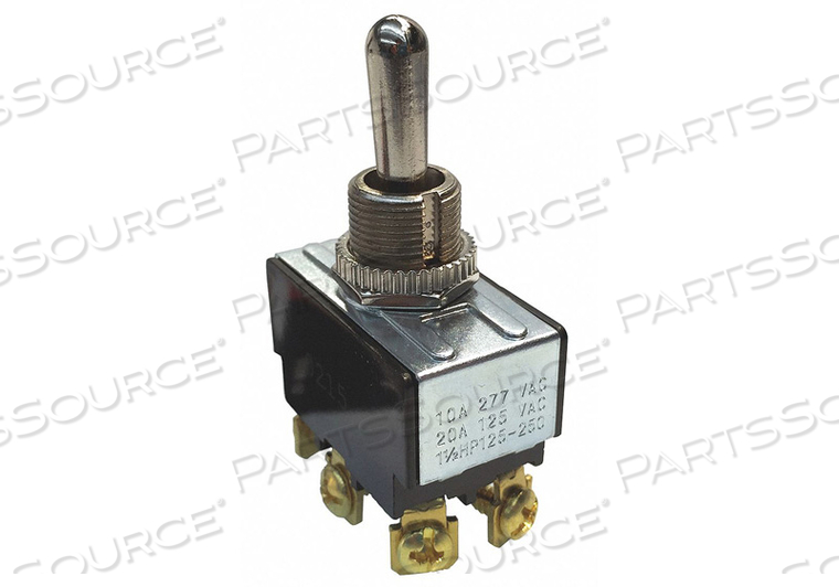 TOGGLE SWITCH DPDT 20A 125VAC ON/OFF/ON by Gardner Bender