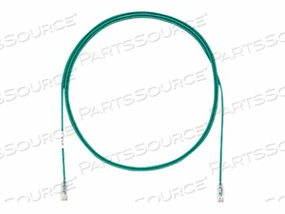 PANDUIT TX6 PLUS - PATCH CABLE - RJ-45 (M) TO RJ-45 (M) - 100 FT - UTP - CAT 6 - IEEE 802.3AT - STRANDED, SNAGLESS, HALOGEN-FREE, BOOTED - GREEN by Panduit