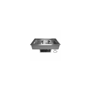"""COLD FOOD WELL UNIT, DROP-IN, REFRIGERATED, (2) PAN SIZE, 33-1/2""""L by Advance Tabco"""