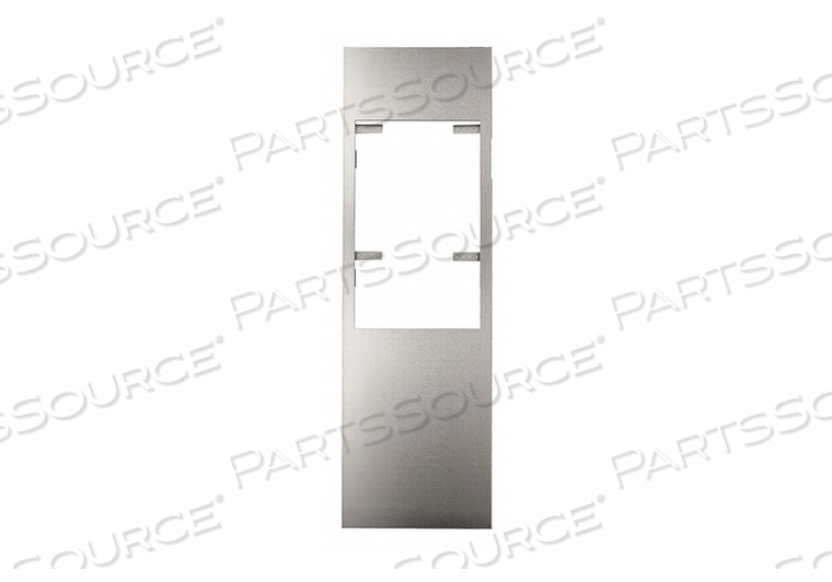 WALL RETROFIT KIT SILVER STAINLESS STEEL by Excel Dryer
